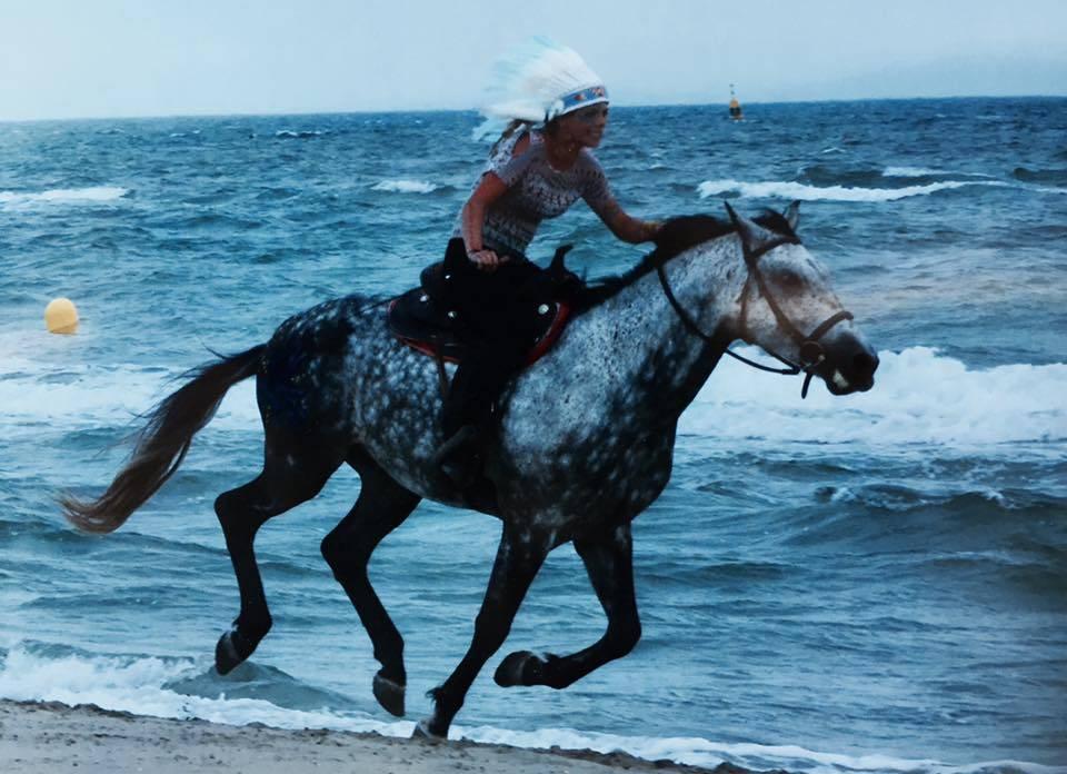 Promenade à cheval en Camargue